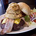 Evans Burger美式餐廳。師大店