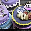 人型蛋糕裝式課程學生_雅雯