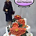 2012烘培展蛋糕協會邀蘿漾展出母親節系列創意蛋糕模型