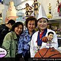 2012烘培展蘿漾攤位以蛋糕模型為主題及推廣捏朔課程攤位花絮3/22