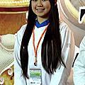 學生廖家瑜榮獲2012蛋糕協會的蛋糕比賽糖花藝術蛋糕裝飾比賽冠軍