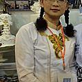 2012黃明華老師參加糖花藝術蛋糕裝飾比賽的作品,雖然沒有名次,但是她還是會繼續圓她蛋糕創作的夢,期待他明年的作品