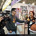 2012烘培展攤位花絮(媒體採訪)