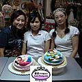 學生小蕙-人型蛋糕裝飾證書課程初級畢