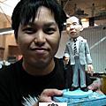 學生王小韋-寫實公仔證書初級第一個作品祖父完成