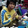 學生黃慧卿-人型蛋糕裝飾證書課程(粘土)