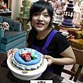 學生郭美研-人型蛋糕裝飾證書課程(食作)