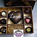客製精緻巧克力禮盒模型