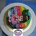 學生張珮情-人型蛋糕裝飾課程(食用篇)