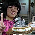 淡水商工學生陳怡安-杏仁膏捏朔證書課程(基礎)