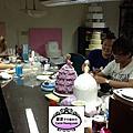 學生陳建星-人形蛋糕裝飾證書課程(模型)遠從馬來西亞來學習