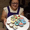 蘿漾杯子蛋糕烘培+裝飾課程(一對一創業)