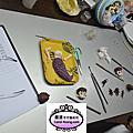 學生陳小姐-人型蛋糕裝飾證書課程初級進行中