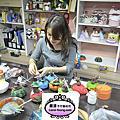 培訓學生吳紀威-哈利兒童捏塑師資課程進行中