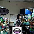 2012年12月高雄科工館歡樂蛋糕城工藝蛋糕展(海底世界魚類製作)進行中