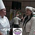 賀 蘿漾同學參加 2012美麗華百樂園聖誕節蛋糕比賽 柴薪蛋糕及鮮奶油裝飾組 分別 獲得最佳創意獎