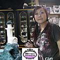 2012年12月高雄科工館歡樂蛋糕城工藝蛋糕展(高雄燈塔海底世界海景翻糖裝飾)進行中