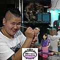 2012年12月高雄科工館歡樂蛋糕城工藝蛋糕展(高雄六和夜市攤販翻糖裝飾)