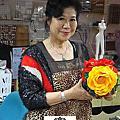 VIP學生劉碧蓮-單選課程-仿法藍瓷花器-201301