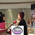 2013台北國際烘焙暨設備展的展前記者會,蘿漾特地設計兩款創意蛋糕在記者會上亮相