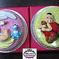 學生楊舒婷-人形蛋糕裝飾課程-親親寶貝&周歲彌喜蛋糕-20130524