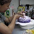培訓學員黃惠卿-人型蛋糕裝飾證書課程中級芭蕾舞者