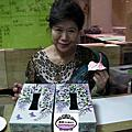 VIP劉碧蓮已迫不及待的製作7/23團體紫籐面紙盒