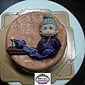 學員卓庭惠-人型蛋糕裝飾證書課程(食用)巧克力磅蛋糕