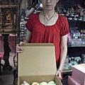 學員蔡淑婷+林妙靜杯子蛋糕翻糖裝飾