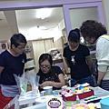 蘿漾莊老師在高雄瑞利格公司開課-美國惠爾通蛋糕裝飾課程(1)