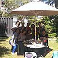 慰勞學員黃明華參賽日本東京蛋糕比賽回台蘿漾全員烤肉大餐