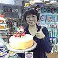學員陳廷瑤(juliea)-蘿漾人型蛋糕裝飾證書課程(翻糖捏朔)