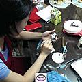 培訓學員王亭鈞-Q狗公仔蛋糕裝飾證書課程