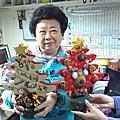 聖誕樹旋轉音樂盒