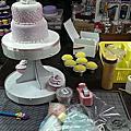 培訓學員張美惠-蕾絲立體時尚蛋糕裝飾證書課程