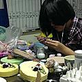 培訓學員劉姿伶-Q狗仔仔系列蛋糕裝飾證書課程