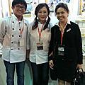 學員陳建星-來自馬來西亞7天不眠不休參加2014烘培展蛋糕比賽糖花組
