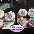 學員廖雪麗-專業烘培杯子蛋糕+裝飾課程