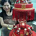 VIP學員劉碧蓮-迷你花轎迎親蛋糕裝飾