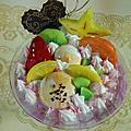 培訓學員吳紀葳實習教學現場-水果冰品模型製作3部曲之1-夏日時光