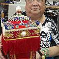 黃梅女士訂制獻給媽祖的神轎