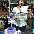 學員黃盈慈(楊梅)-蕾絲3D蛋糕裝飾證書課程