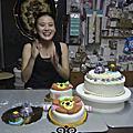 學員許鈺佩-蛋糕烘培+翻糖奶油糖霜裝飾