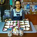 培訓學員李貞珍-專業婚禮小物手工餅乾烘培翻糖裝飾