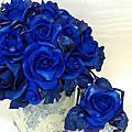 蘿漾Deco花藝漾系列10-1-藍寶玫瑰