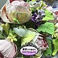 蘿漾Deco花漾系列(3)古典高腳英倫玫瑰(含花器製作)6月份團體班