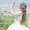 淘寶婚紗配件 黑與白