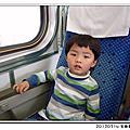 20120314 台鐵客廳車+扇形車庫