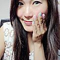 【指彩】馬卡龍碎花指甲油使用心得文