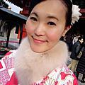 【2016 春✱日本東京親子遊】嗨~想不想立馬變身成為體態優雅的和服美女啊,很簡單~只要走一趟位於淺草『朝顏著物』和服出租店,就可以達成願望啦!